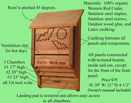North american bat house research project guidelines